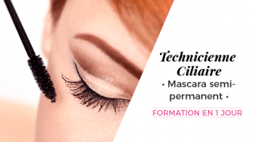 Technicienne Ciliaire en pose de mascara semi-permanent